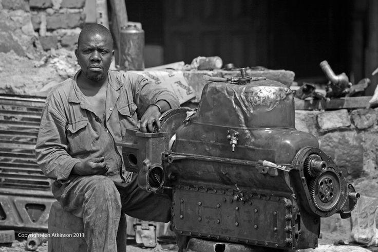 Engine Repair, Tanzania