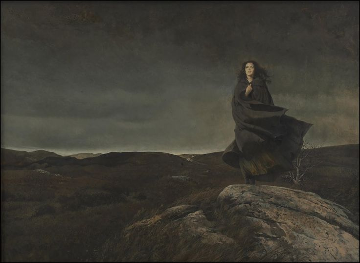 its supposed to be 'Wuthering Heights' but it reminds me of jane eyre wandering the moors