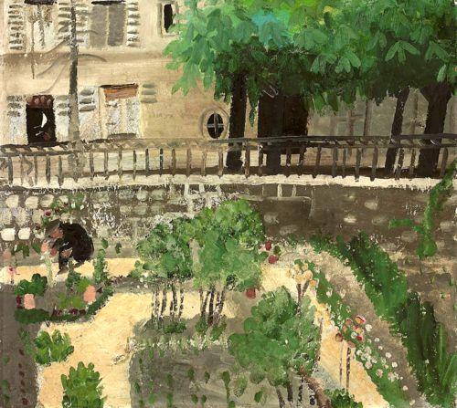 Winifred Nicholson (1893-1981) Paris Garden