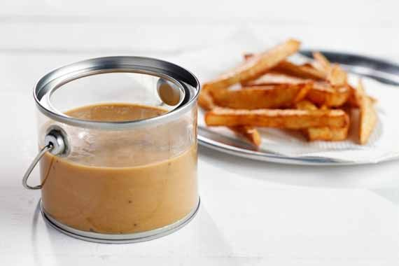 Poutine Gravy - a made from scratch gravy recipe. There have been times when I've wanted a homemade gravy without cooking a roast. It looks like this might fit the bill!