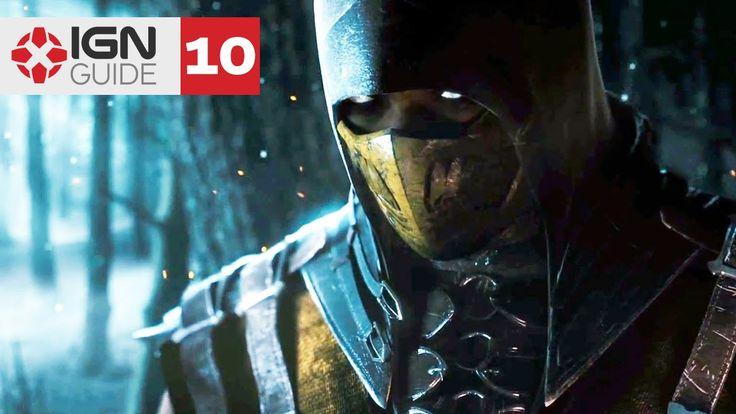 Chapter 09: Scorpion - Mortal Kombat X Story Mode