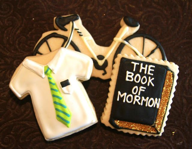 Cute Mormon Missionary Cookies
