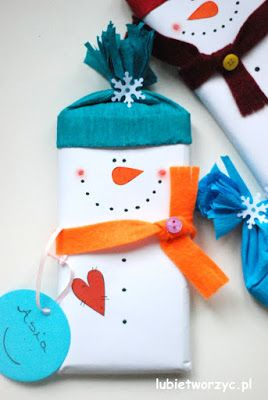 Czekolada zapakowana w papierowego bałwanka :)   #bałwan #bałwanek #bałwanki #bałwany #snowman #czekolada #chocolate #prezent #gift #gifts #present #diy #zróbtosam #handmade #tutorial #poradnik #jakzrobić #howto #instrukcja #instruction #craft #crafts #papercraft #papercrafts #lubietworzyc