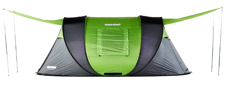 The Cinch! 4 Man Pop-Up Tent is the biggest in its range & it's huge! Currently the biggest pop-up tent in the world! Big enough for 4 people or 2 people & 2 surf boards or 3 people & a very big dog or... you get the idea! Price: £270.    http://cinchpopuptents.com/products/4-man-tent?variant=42005115278