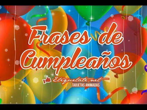 Frases de Cumpleaños Gratis VER EN ░▒▓██► http://etiquetate.net/frases-de-cumpleanos-gratis/