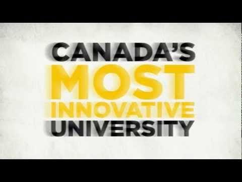 "Silver winner,  Recruitment Videos, University of Waterloo, ""Ideas start here"""