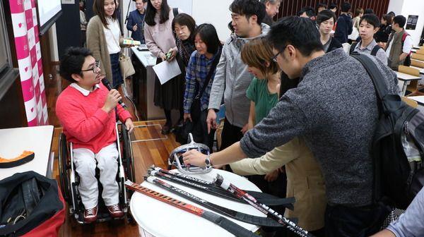 パラアイスホッケー・上原大祐、東京五輪はバドミントン代表を狙う?