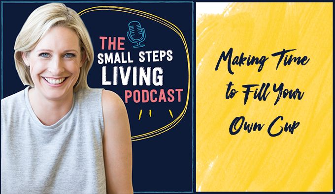 In this episode, Lisa talks about the importance of making time to fill your own cup and reconnect with yourself – in the midst of the madness that is parenthood and weekends with kids. It's time to stop letting thosedays between the rush of work and school just fly by...