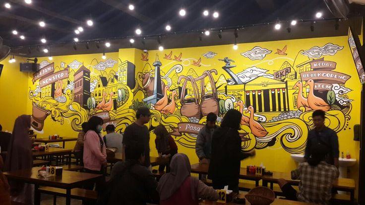 Bebek BKB Kebon Jeruk, Mural Bebek BKB Kebon Jeruk, Jasa Mural, Jasa Mural Restoran, Jasa Mural Cafe, Jasa Lukis Dinding, Mural Cafe