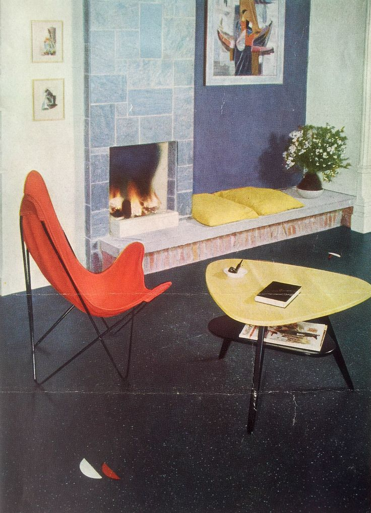 Find This Pin And More On Interior Design 50s U0026 60s By Beetle0270.