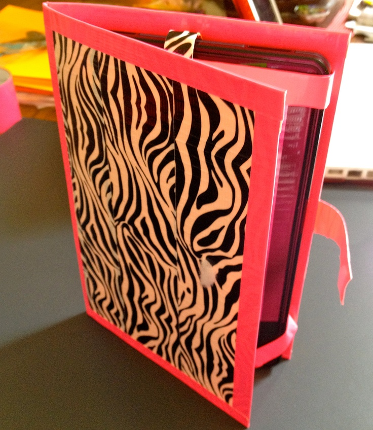 Duct Tape Kindle Fire / Tablet Case.