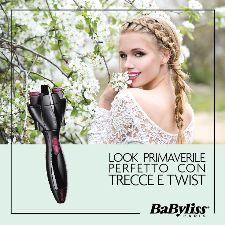 Trecce e Twist sono sinonimo di Primavera! Crea il tuo Look con Twist Secret. Scopri i nostri tutorial su www.twistsecret-babyliss.it #braid #spring #hairstyle