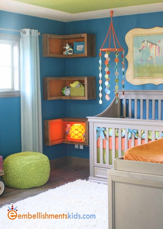 Gender Neutral Nursery By EmbellishmentsKids.com