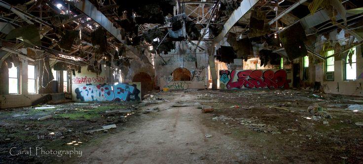 Essex County Asylum: Kitchen [1200x545] Cara L Photography