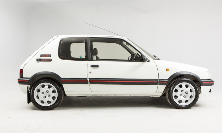 Peugeot 205 1.9 GTI - my very first car!