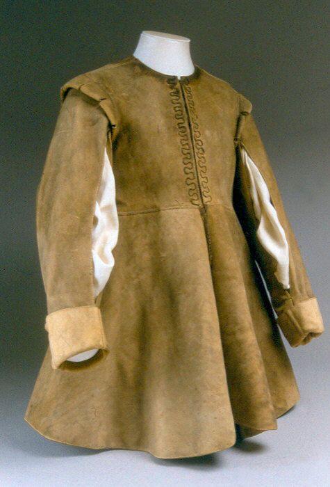 Coat ca. 1630-1640 via The Costume Institute of The Metropolitan Museum of Art