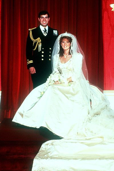 14 best prince andrew and sarah ferguson images on for British royal wedding dresses