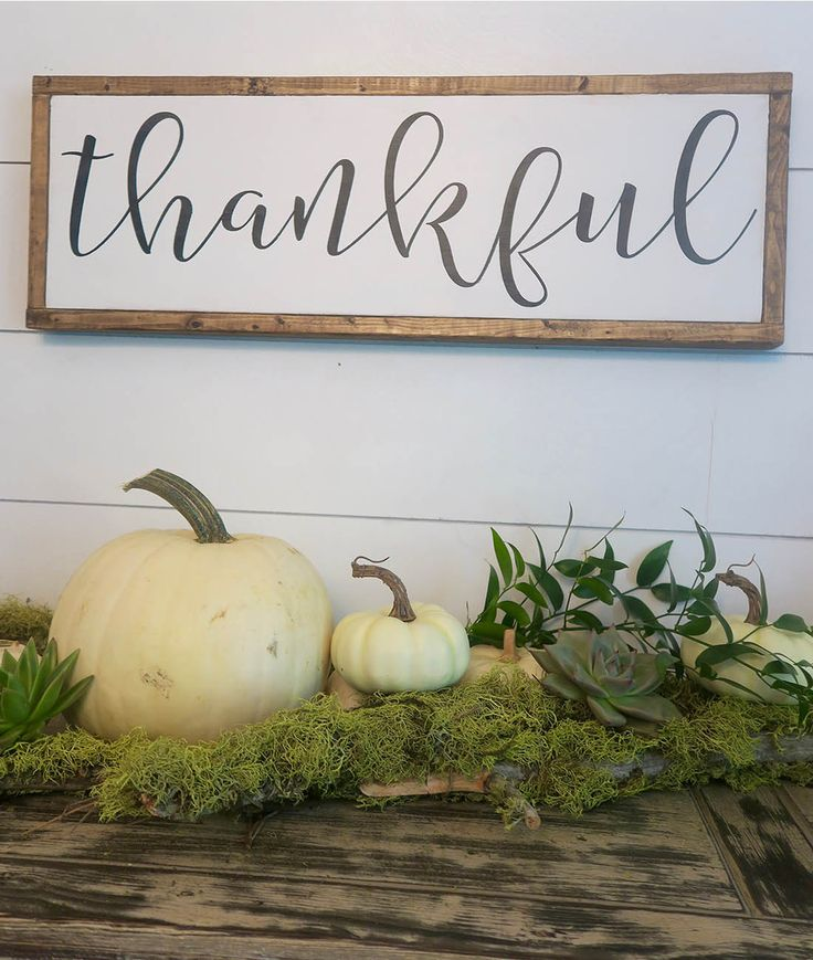 """In all things, give THANKS."""" - 1 Thessalonians 5:18 Dimensions: 25"""" X 8.5"""