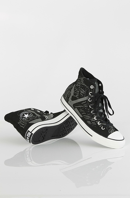 Converse All Star High kengät Black/Charcoal 89,90 € www.dropinmarket.com