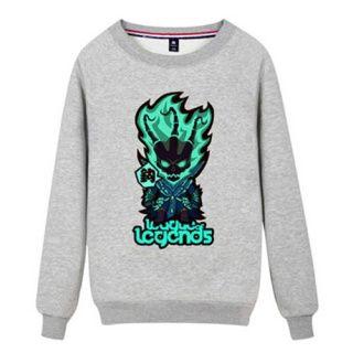 League of Legends Thresh sweatshirt for men crew neck