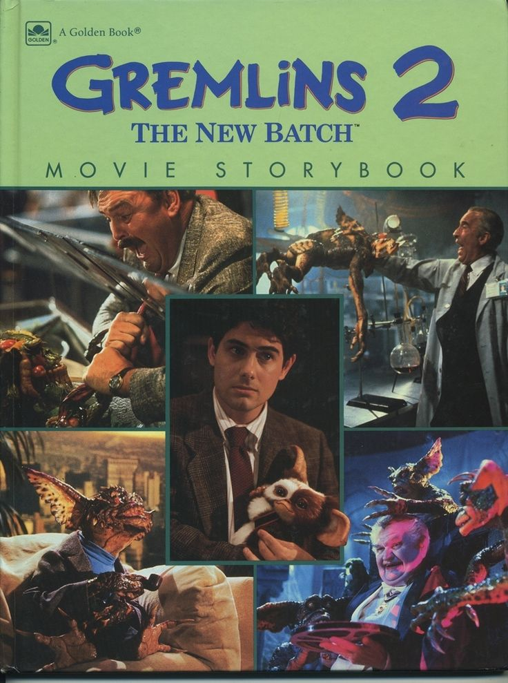 Gremlins 2 The New Batch Hardcover Book   Products ...