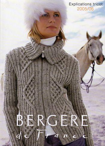 patron tricot gratuit bergere de france