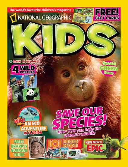 National Geographic Kids, May 2013. Check out what's inside!