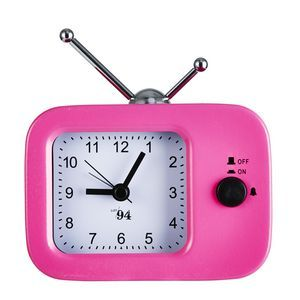 Lot 94 Neon TV Desk Clock Pink This will match my sticky tape dispenser and stapler