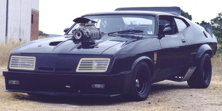 Mad Max Interceptor- started out as 1973 XB GT Ford Falcon Coupe exclusive to Australia.