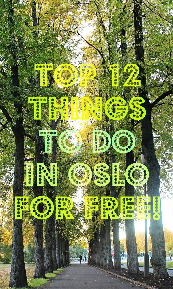 crizkis / February 9, 2016 Top 12 Free Things To Do In Oslo | Crizzy Kiss