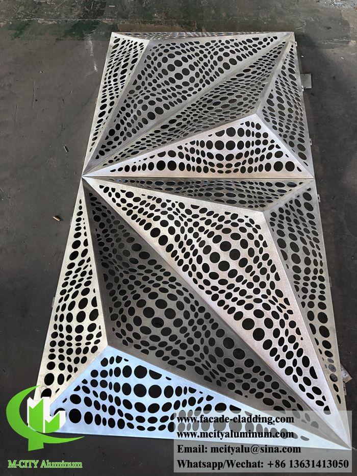 Aluminum Sheet Cladding Panels Folded Panels Aluminium Cladding Cladding Panels Cladding