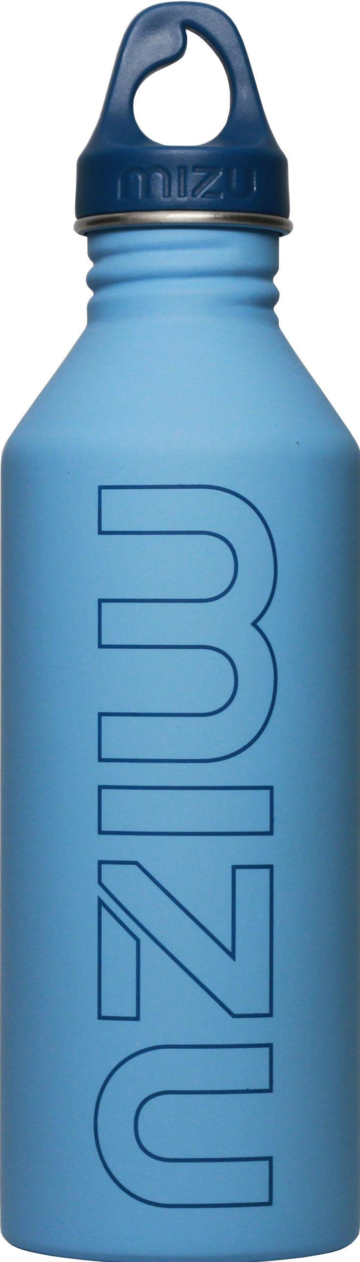 Mizu bottle light blue