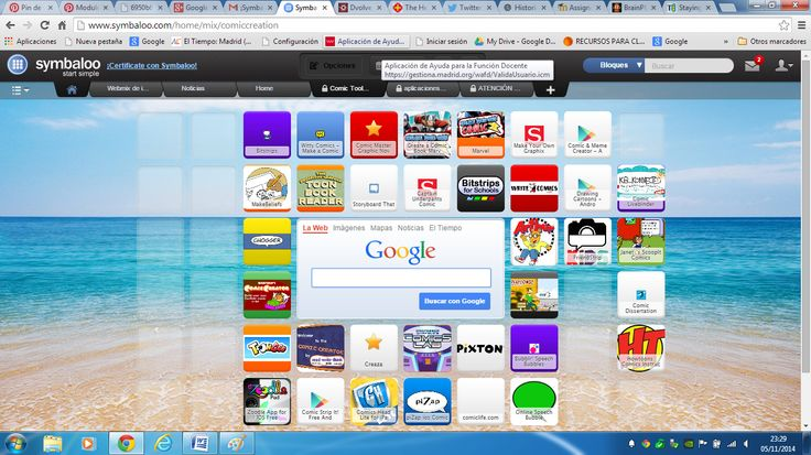 Symbaloo is a multiple resource website similar to pinterest but more varied in topics and resouces because it gives direct connection to webpages.