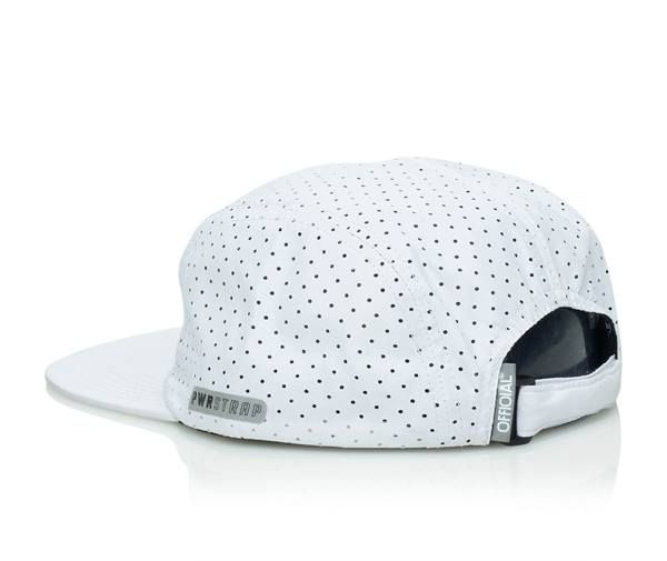 Official Cap Aero White 5 Panel Perforated Strapback Skateboard Hat OSFM 2 | snapchat @ http://ift.tt/2izonFx