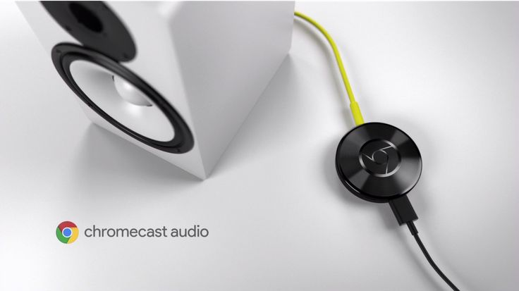 Chromecast Audio connects your existing speakers for $35