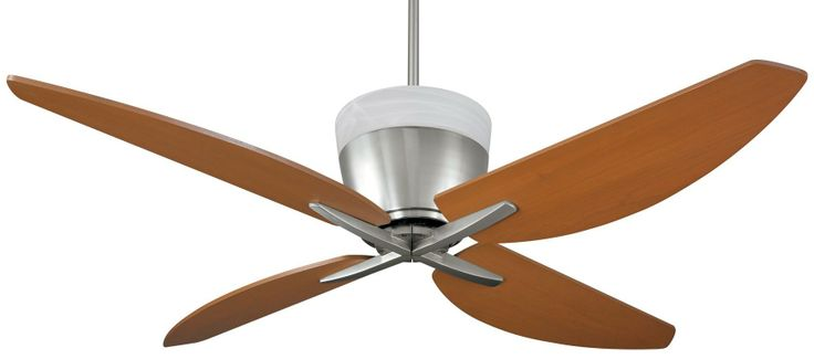 1000 images about cool ceiling fans on pinterest - Curved blade ceiling fan ...