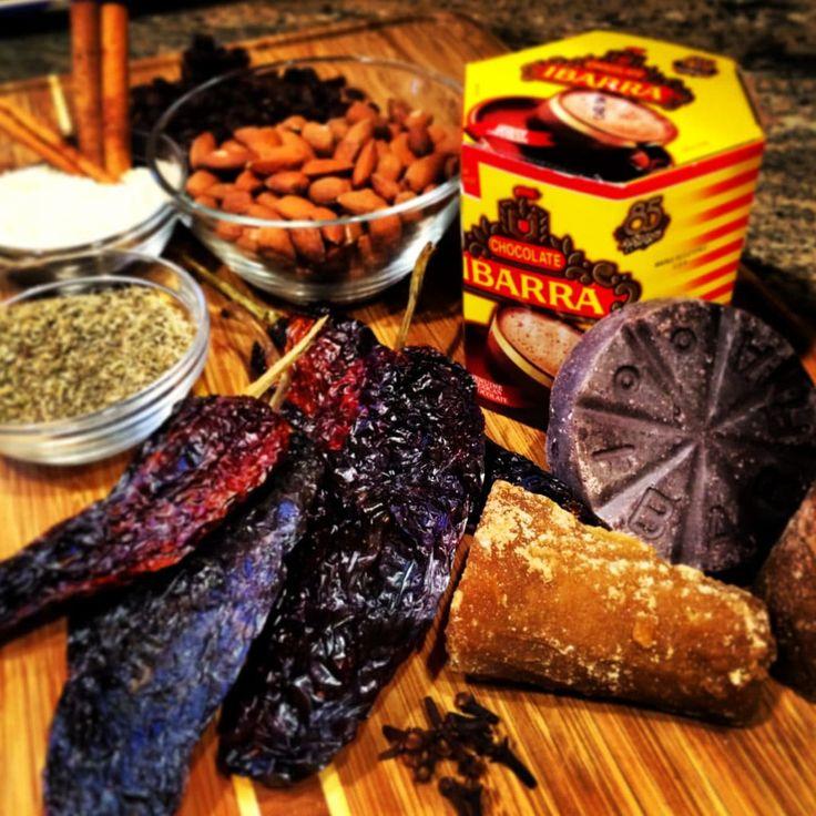 Pork Mole Negro - keviniscooking.com