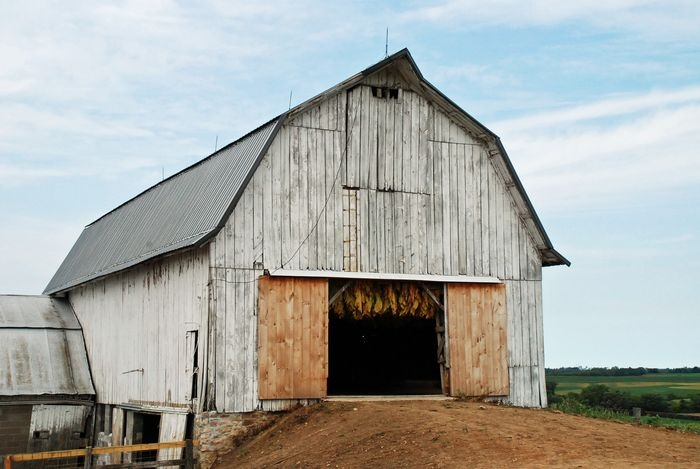 118 best tobacco barns images on pinterest res life for Tobacco barn house plans