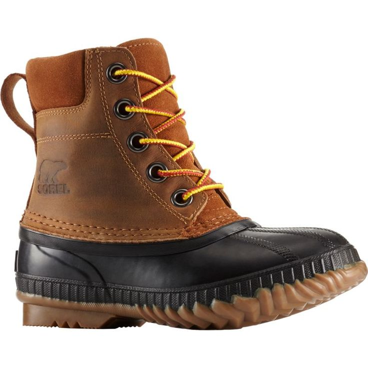 Sorel Kids' Cheyanne II Leather 200g Waterproof Winter Boots, Brown
