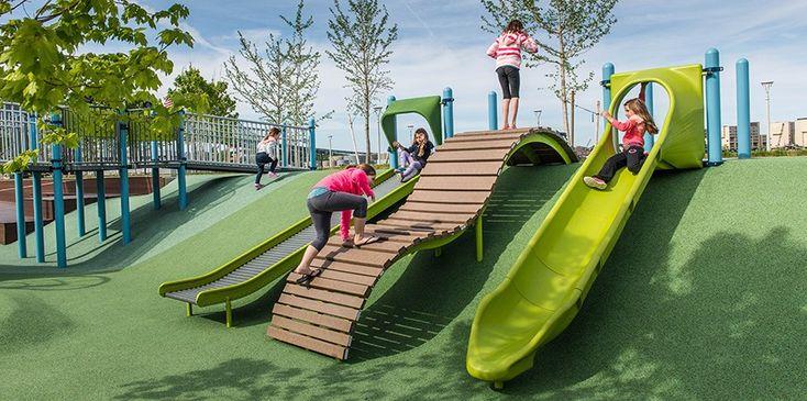 Mayor Thomas M. Menino Park - Inclusive Playground - Rehabilitation