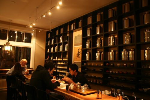 Samovar Tea Lounge - 730 Howard St, SOMA