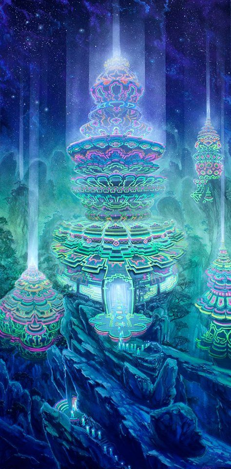 """Manifestation"" Art of Jonathan Solter #visionary art"