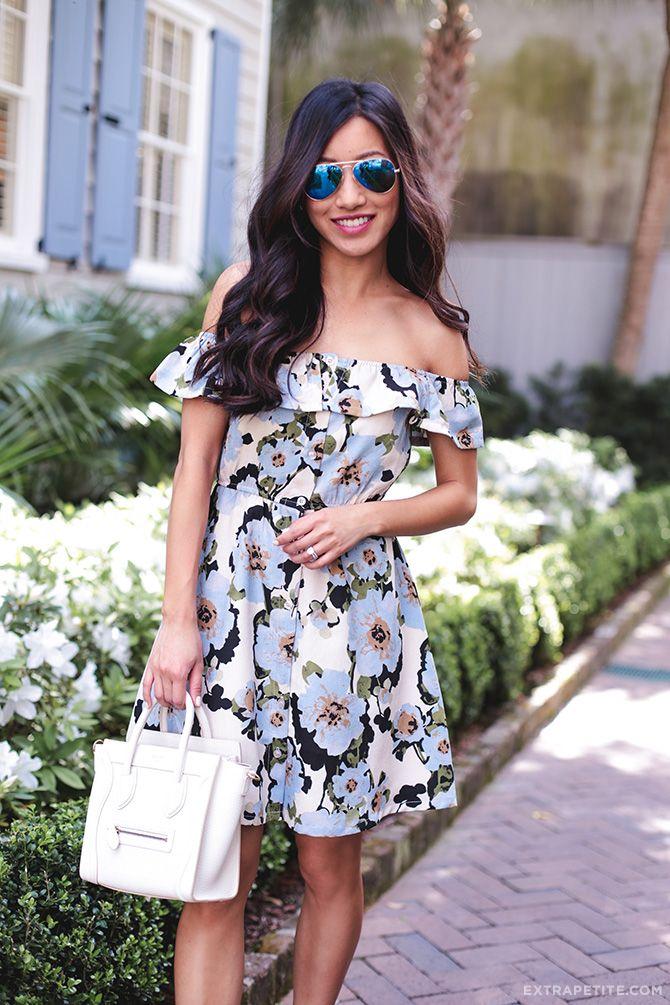 giram JOA primavera vestido de roupa de estilo do sul floral