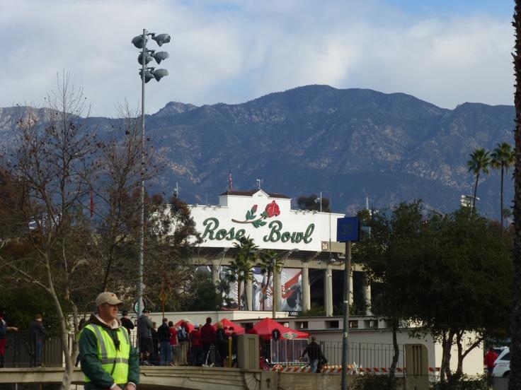 The Rose Bowl: Pasadena, California