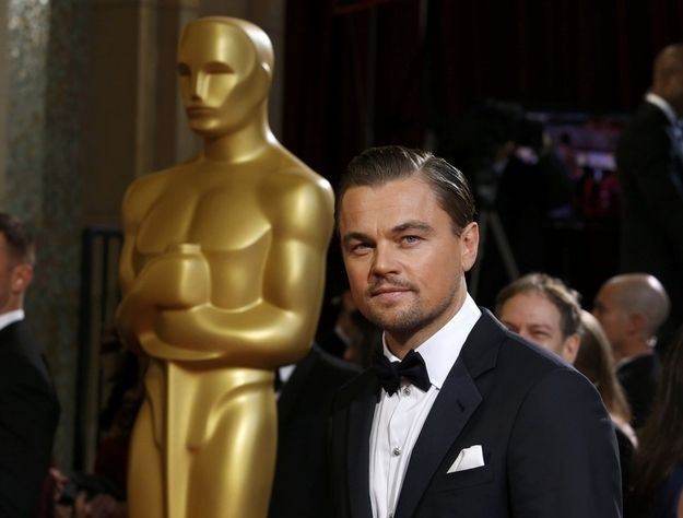 You see, he doesn't even need a little statue because he has HIMSELF. | Why It Doesn't Really Matter At All That Leonardo DiCaprio Didn't Win An Oscar