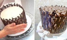 A Cerca de Chocolate para Bolos é uma ideia prática, econômica, charmosa e deliciosa para decorar os seus bolos. Pegue todas as dicas e faça. Com ela, sua                                                                                                                                                     Mais