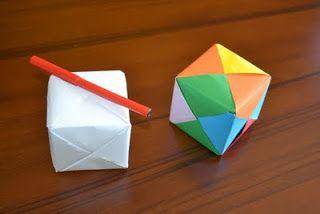 Matematica Ricreativa: Costruire Un Cubo Con La Carta