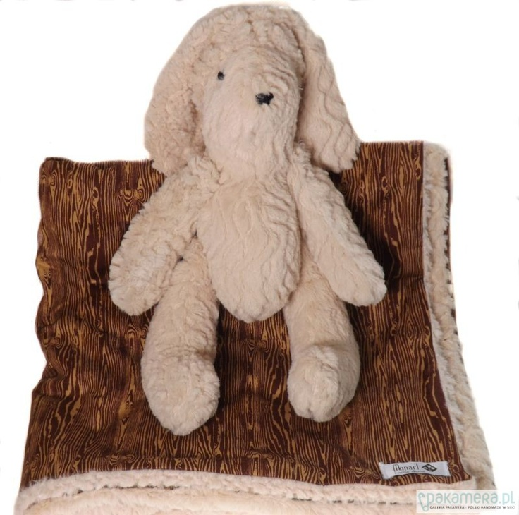 Chic baby gift! Soft buny and blanket :)