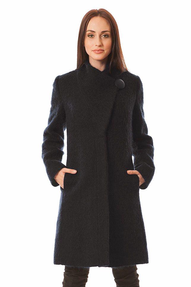 Płaszcz Tess czarny Semper #fashion #semper #aw2016 #fw2016 #fashionbrand #black #coat
