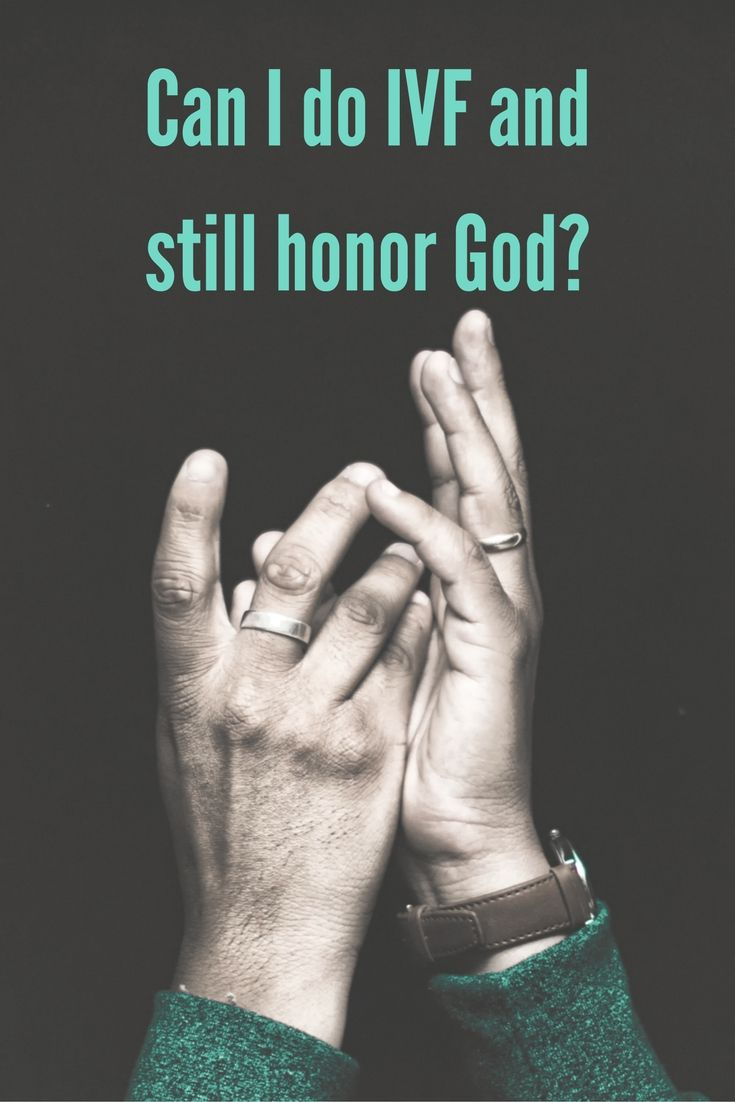 Christians and infertility: Can I do IVF and still honor God? | AmateurNester.com | in vitro fertilization